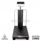 ALEXA Cahaya Adil Electronic Digital Scale Timbangan Digital Ferbeng 150KG Pagar