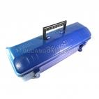 KENMASTER Tool Box Kotak Perkakas Besi Kaleng 42 x 15 x 12 Cm