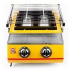 SEAGULL Panggangan Gas Roaster BBQ Kompor 2 Tungku ET K111 B