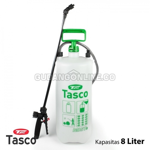 TASCO Sprayer Alat Penyemprot Tanaman Pressure Sprayer 8 Liter MIST 8