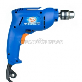 H&L Mesin Bor Tangan Listrik Electric Drill 10mm HL 450 RE