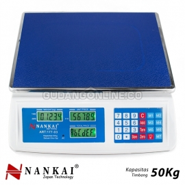 NANKAI Timbangan Elektronik Meja Buah Electronic Precise Digital Table Scale 50Kg ART : 177-03