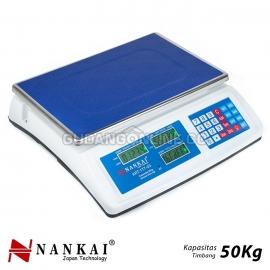 NANKAI Timbangan Elektronik Meja Buah Electronic Precise Digital Table Scale 50Kg ART : 177-03