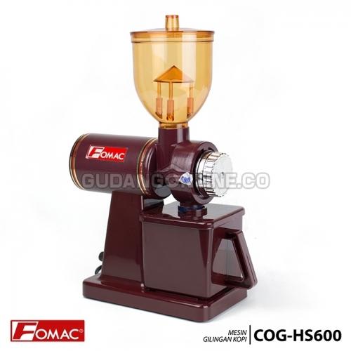 FOMAC Mesin Gilingan Kopi Listrik Electric Coffee Bean Grinder COG-HS600