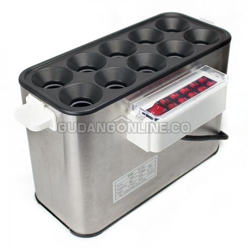 SC-DCJ Electric Egg Hotdog Roll Panggangan Sosis Telur SOSTEL Listrik 10 Lubang