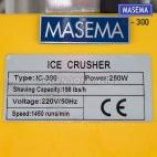 MASEMA Mesin Serut Gilingan Es Listrik Ice Crusher Double Blade IC - 300