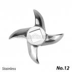 Sparepart Mata Pisau Gilingan Daging No 12 Universal 12mm Stainless