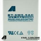 Aki Accu Kering Battery Baterai Timbangan Digital MACS 6V 5.5Ah/20HR Original